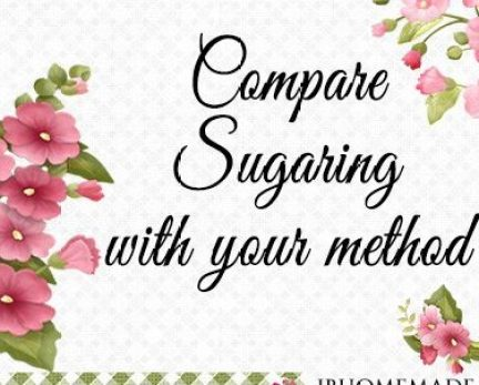 Compare Sugaring with your method Board Cover