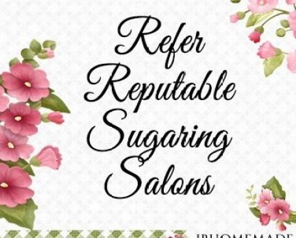 Refer Reputable Sugaring Salons Board Cover