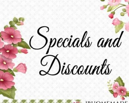 Specials and Discounts Board Cover