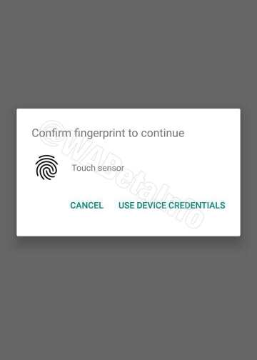 WhatsApp: Fingerprint authentication feature rolling out soon for Android 2