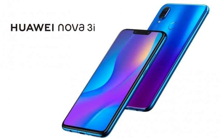 Huawei Nova 3i...list and specs of prominent phones Huawei released the previous year, 2018 - alongs side with their prices