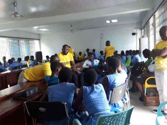 mtn training youth with employable skills