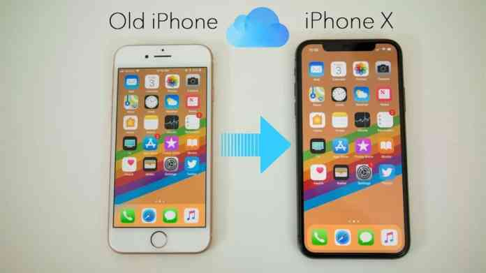 transfer your data to your new iPhone
