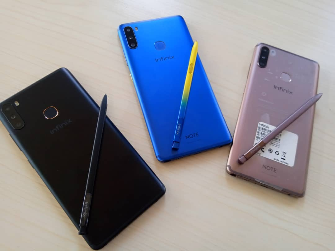 Infinix Note 6 with XPens