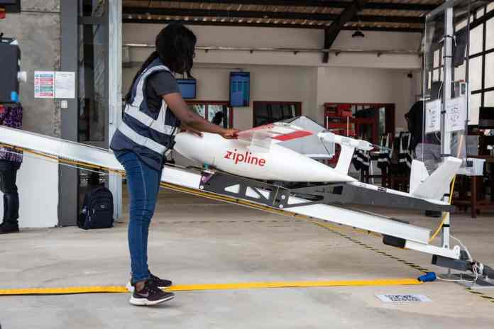 Ghana Medical Drone new distribution centre Mampong
