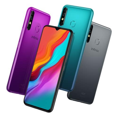 Infinix Hot 8 colour options