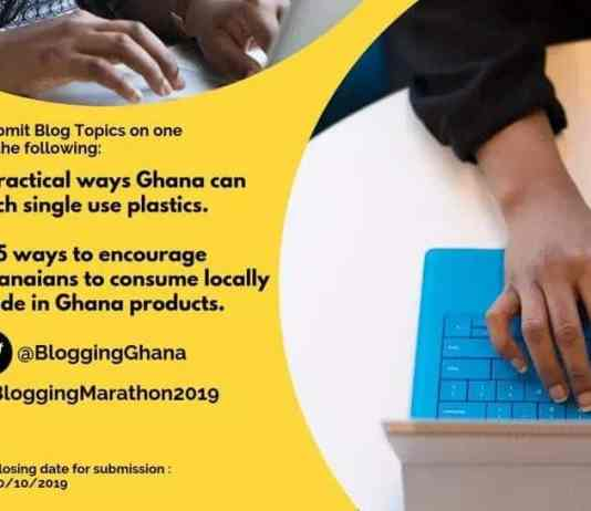 Blogging Ghana introduces Blogging Marathon 2019 competition