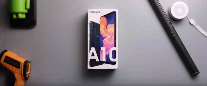 samsung A10 review