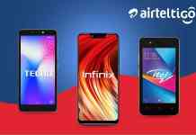 AirtelTigo partners TECNO, Infinix and Itel to offer free voice and data for mobile devices