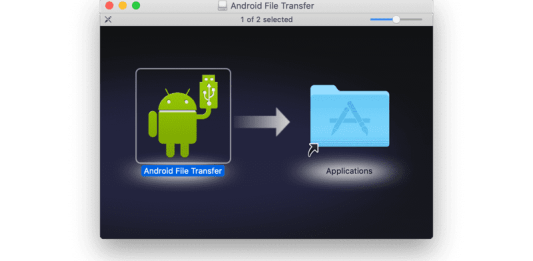 how to use android file transfer on Mac
