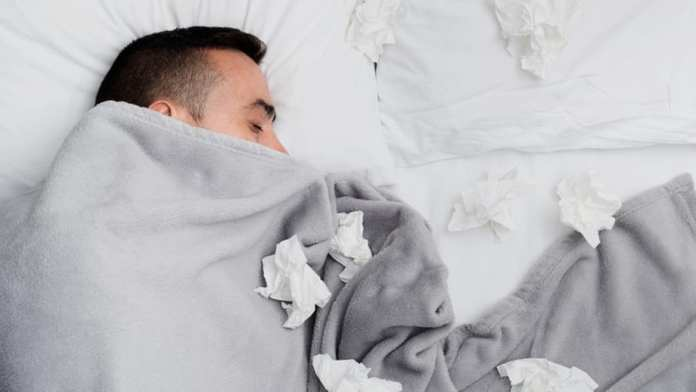 Sleep Tips for a Cold or the Flu