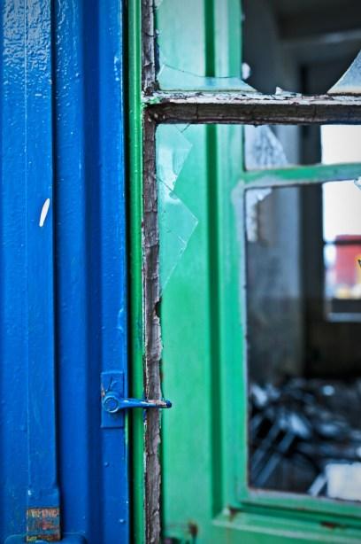 blau und grün II