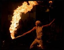 fire show II