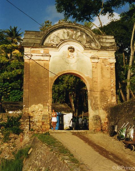 Brasil - Bahia - Morro de Sao Paulo - Portal