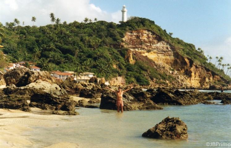 Brasil - Bahia - Morro de Sao Paulo - Segunda Praia e Farol