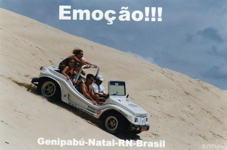Brasil - Rio Grande do Norte - Natal - Dunas Moveis de Genipabu