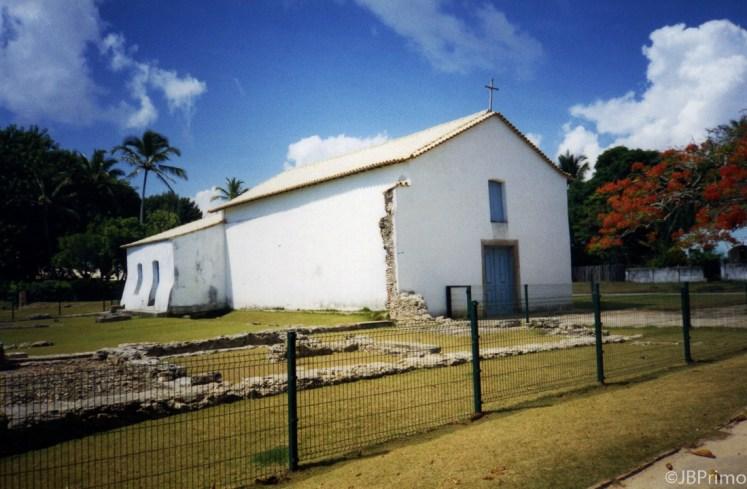 Brasil - Bahia - Porto Seguro - Cidade Historica - Igreja Sao Benedito dos Negros