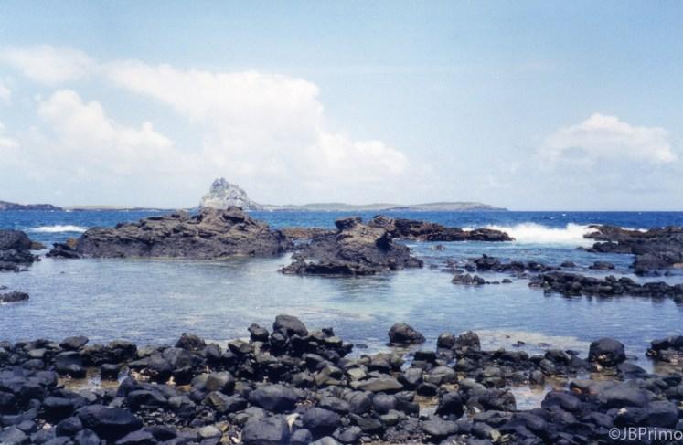 Brasil - Fernando de Noronha - Trilha a Praia do Atalaia - Piscinas Naturais