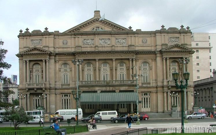 Argentina - Buenos Aires - Plaza Lavalle - Teatro Colon