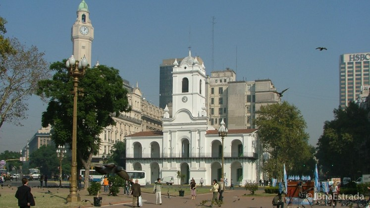 Argentina - Buenos Aires - Plaza de Mayo - Cabildo