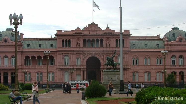 Argentina - Buenos Aires - Plaza de Mayo - Casa Rosada