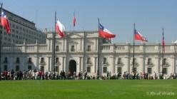 Chile - Santiago - Palacio La Moneda