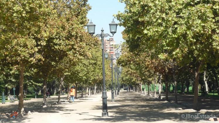 Chile - Santiago - Parque Araucano