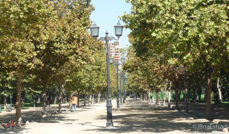 Chile - Santiago - Parque Araucano (Las Condes)
