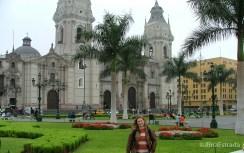 Peru - Lima - Plaza de Armas (Mayor) - Catedral
