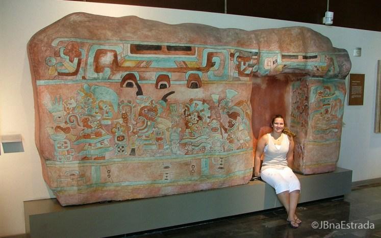 Mexico - Cidade do Mexico - Bosque de Chapultepec - Museo Nacional de Antropologia - Sala Oaxaca
