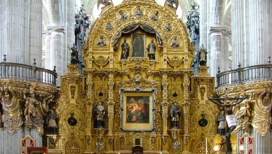 Mexico - Cidade do Mexico - Zocalo - Plaza de la Constituicion - Catedral Metropolitana