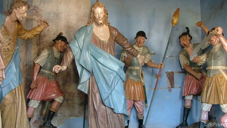 Brasil - Minas Gerais - Congonhas - Basilica de Bom Jesus dos Matosinhos - Passo da Prisao