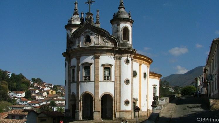 Brasil - Minas Gerais - Ouro Preto - Igreja Nossa Senhora do Rosario