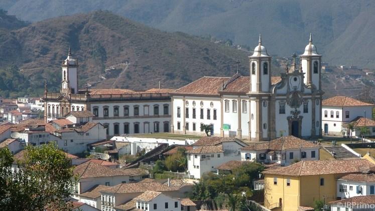 Brasil - Minas Gerais - Ouro Preto - Museu da Inconfidencia e Igreja Nossa Senhora do Carmo