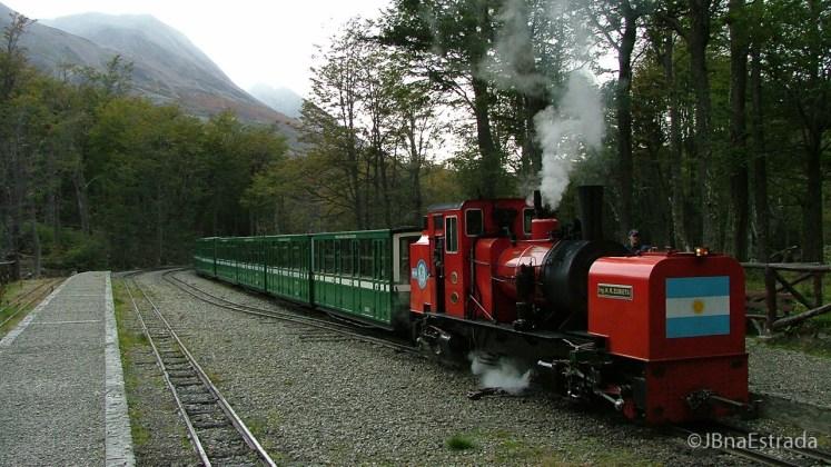 Argentina - Ushuaia - PN Terra do Fogo - Trem do Fim do Mundo