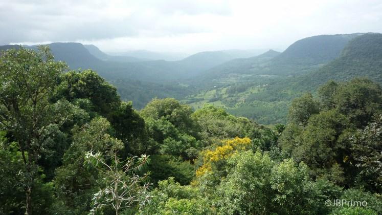Brasil - Rio Grande do Sul - Gramado - Vista do Vale do Quilombo