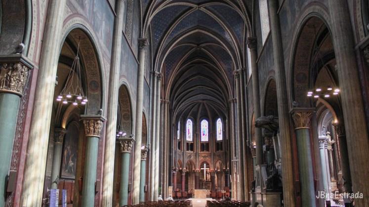 Franca - Paris - Abadia de Saint-Germain-des-Pres
