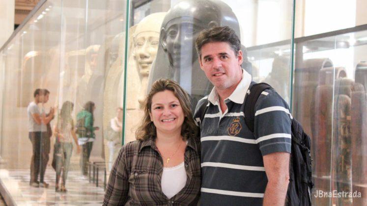 Franca - Paris - Museu do Louvre - Antiguidades Egipcias