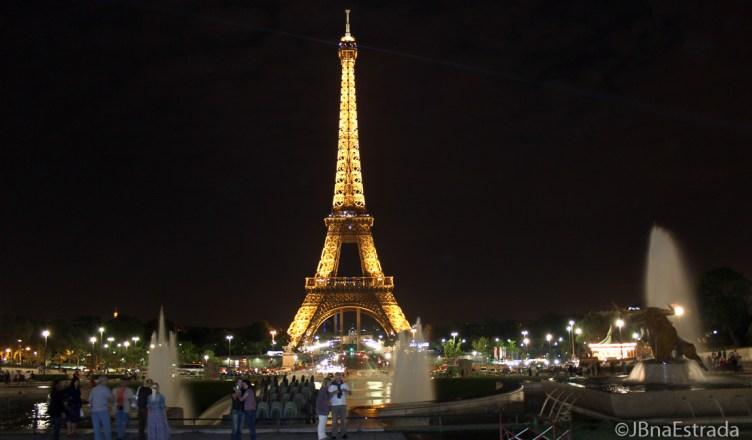 Franca - Paris - Trocadero - Vista Torre Eiffel