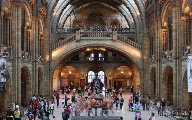 Inglaterra - Londres - Museu de Historia Natural