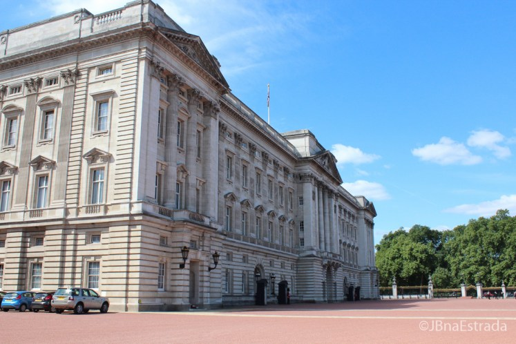 Inglaterra - Londres - Palacio de Buckingham - Fachada