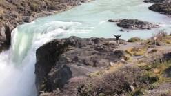 Chile - Parque Nacional Torres del Paine - Salto Grande
