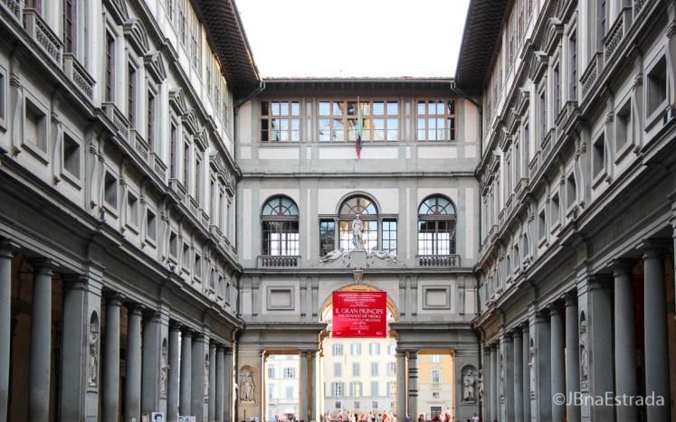 Italia - Florenca - Galleria degli Uffizi