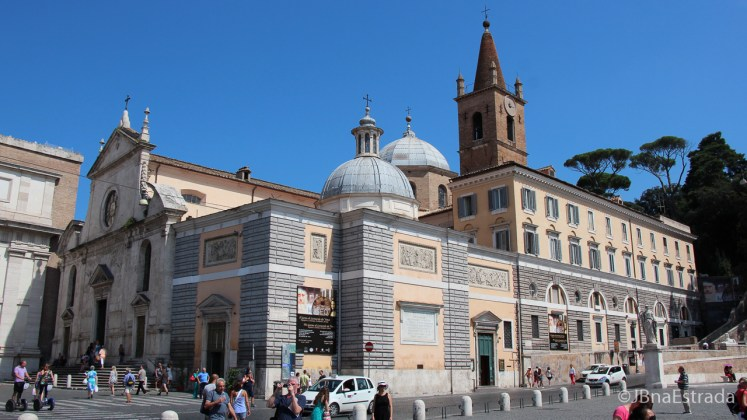 Italia - Roma - Basilica Santa Maria del Popolo