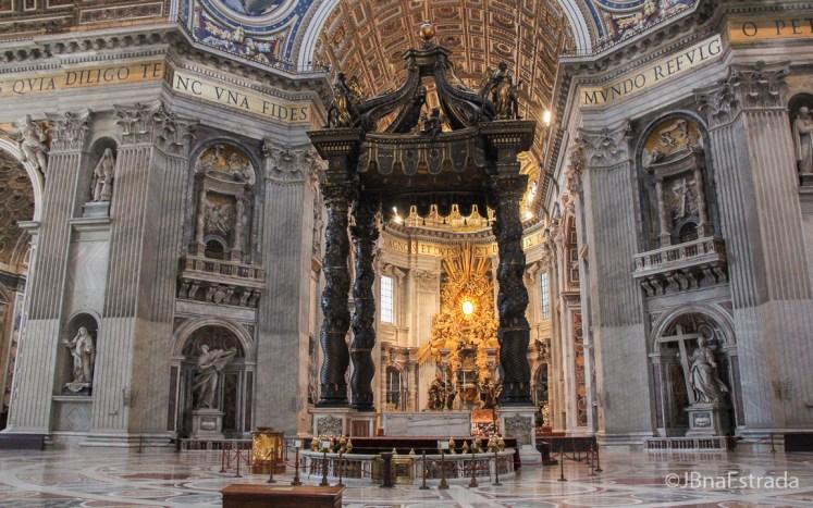 Italia - Vaticano - Basilica de Sao Pedro