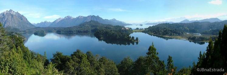 Argentina - Bariloche - Vista dos Lagos Moreno e Nahuel Huapi