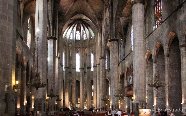 Espanha - Barcelona - Basilica de Santa Maria del Mar