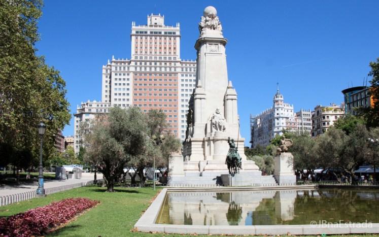 Espanha - Madri - Plaza de Espana