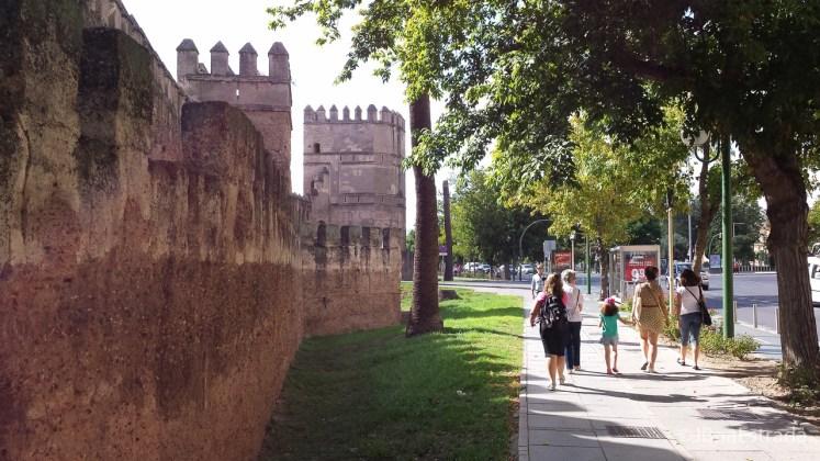 Espanha - Sevilha - Muralhas de La Macarena