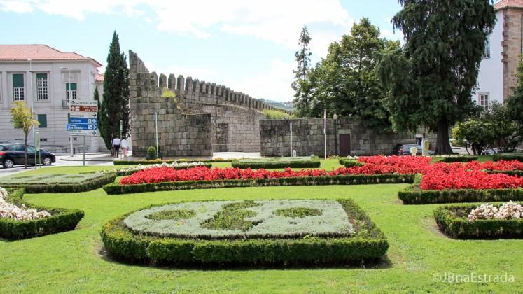 Portugal - Guimaraes - Jardins